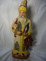 Vaillancourt Folk Art Christkindlesmarkt Gluhwein Santa Signed by Judi image 1
