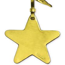 Coach Star Ornamental Bag Charm, Metallic Lemon image 3