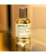 SANTAL 33 by LE LABO 5ml Travel Spray S33 Perfume CEDAR LEATHER PAPYRUS - $18.00