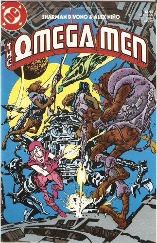 The Omega Men #21 December 1984 [Comic] [Jan 01, 1984] Sharman Divono and Alex N