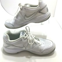 Nike City Court Womens Shoes 488136-101 White Leather Size 7.5 - $26.47