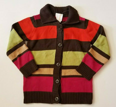 NWT Gymboree Girl's Long Sleeve Button Up Sweater Size Small 5-6 - $12.99
