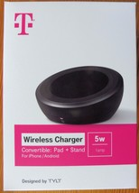*NEW* T-Mobile Wireless Charger Pad+Stand for iPhone/Android (Black) New - $9.99