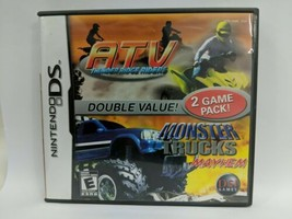 ATV: Thunder Ridge Riders/Monster Trucks Mayhem (Nintendo DS, 2007) - $6.43