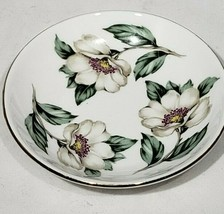 Crown Staffordshire Pear Blossom Butter Pat Dish fine bone china similar... - $6.99