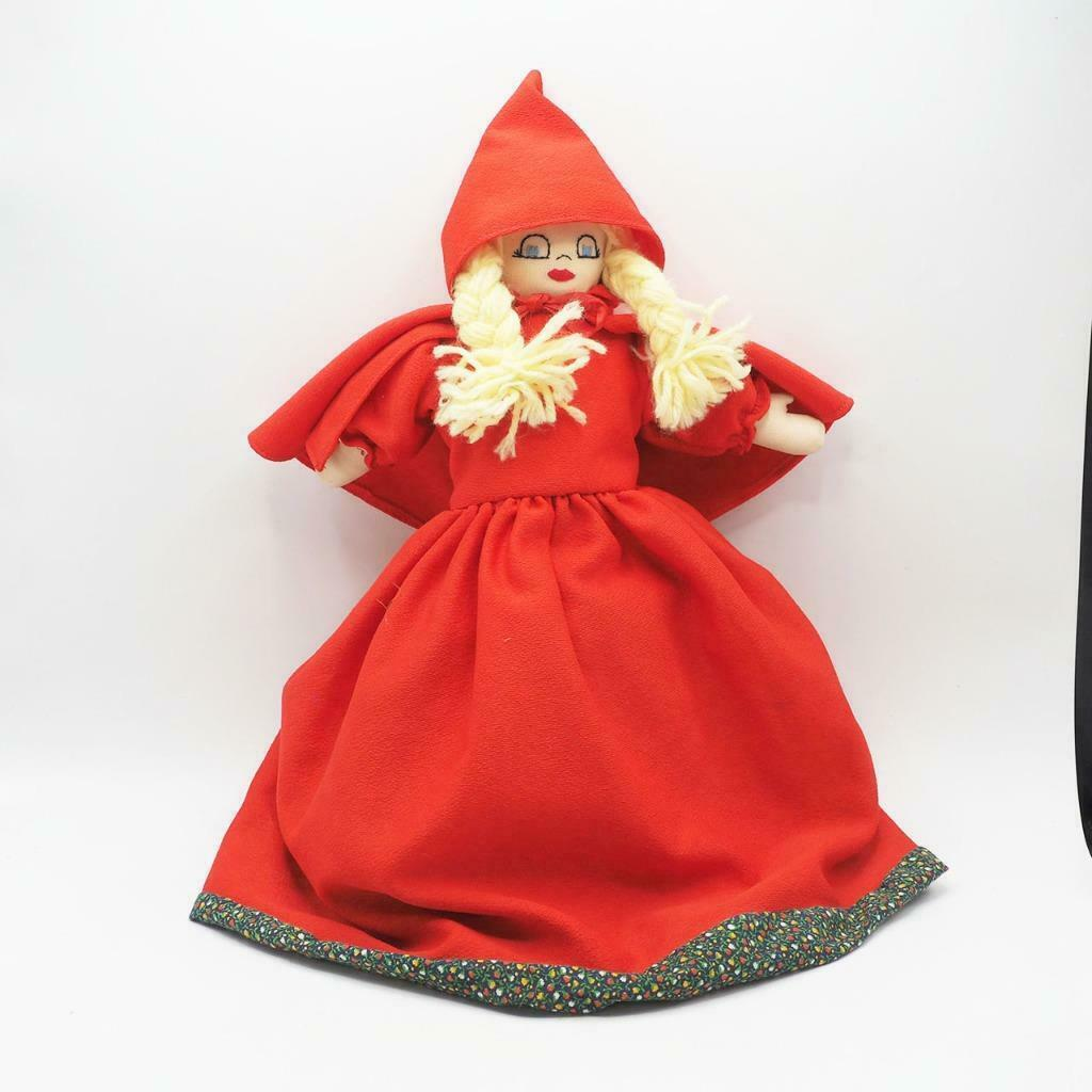 Primary image for Vintage Interchangeable Hand Puppet Little Red Riding Hood Big Bad Wolf Grandma