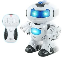 Toy RC Dance Robots Walking and English Speaking Humanoid Toys - $22.36