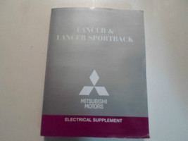 2012 Mitsubishi Lancer & Lancer Sportback Electrical Supplement Manual F... - $71.27