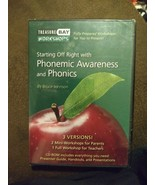 Phonemic Awareness and Phonics CD-Rom Workshops Presentations PDFs Info. NIP - $51.73