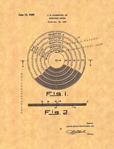 Phonograph Record Patent Print - $7.95+