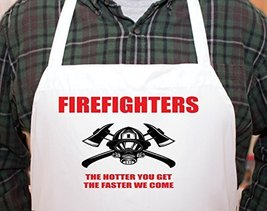 Firefighter Fireman Fire Personalized Chefs Funny Cooking Apron Kitchen,... - $15.79