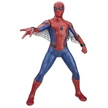 MARVEL Tech Suit Spider Man Action Figure, English  - $23.45