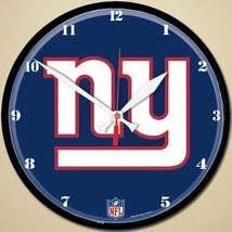 """New York Giants Logo on 12"""" Round Wall Clock by WinCraft - $36.99"""