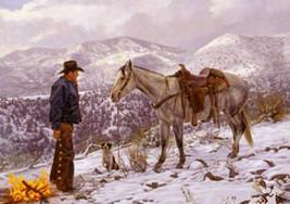 Cowboys Life Cross Stitch Pattern LOOK - $4.95