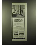 1950 Trane Hide-Away Convectors Ad - Building a home? - $14.99