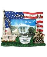 USA Flag, Washington Monument,U.S. Capitol, White House, IWO Jima Memori... - $17.99