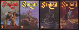 Sinbad Book 1 The Four Trials Comic Set 1-2-3-4 Lot Adventure Comics Sin... - $30.00