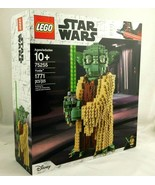 LEGO Star Wars Yoda 75255 Buildable Statue AGES 10+ 1771 PCS Disney Sealed - $189.99