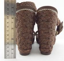 2 9 9 WEITZMAN ALEX Wdge Shoes Sandals Brown Size 5 STUART espadrille Crochet 1 OH4wfExqqn