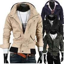 New Fashion and High-grade Cotton Jacket, Men's Casual Jacket  - $57.94