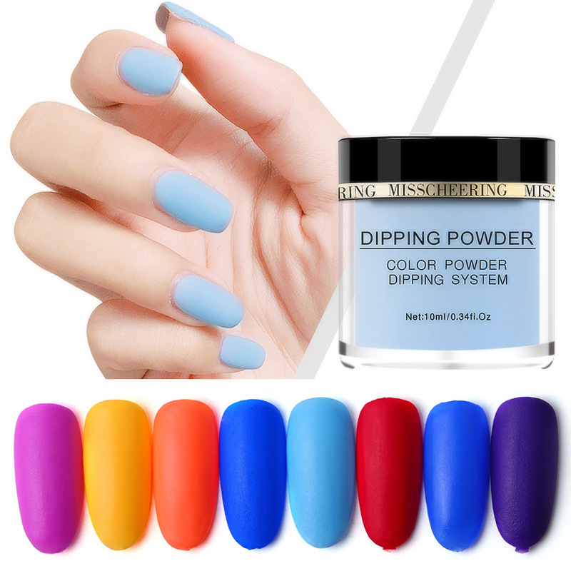 Matte Color Manicure Powder Nail Dipping Powder Nail Art Decorations  07 image 6