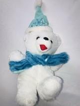 "DanDee Collectors Choice 2017  Snowflake Teddy Bear Plush 13"" Rare - $31.64"