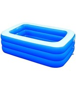 Inflatable Swimming Pools, Thickened Full-Sized Inflatable Pools,Kiddie  - $70.00