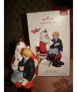 HALLMARK 2018 A CHRISTMAS STORY HO! HO! HO! ORNAMENT MAGIC SOUND ORNAMENT  - $24.95