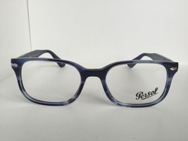 14487a65651bf New Persol 3118-V 943 Cobalt Blue 53mm Rectangular Men  39 s Eyeglasses