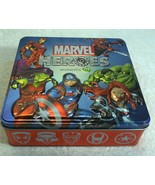 Australia Issue Marvel Super Heroes Woolworths Collectors Tin & 66 Disc ... - $82.23