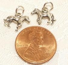 Sterling Silver 3D ZEBRA Charm image 2