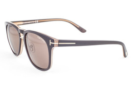 Tom Ford FRANKLIN Brown / Brown Sunglasses TF346 50J 55 - $214.62