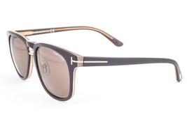 Tom Ford FRANKLIN Brown / Brown Sunglasses TF346 50J 55 - $214.62