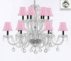 Murano Venetian Style All Empress Crystal (Tm) Chandelier! with Crystal Balls an - $307.71