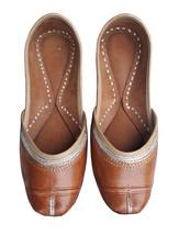 punjabi jutti  wedding shoes, indian shoes,stylish shoes USA-6                  - $29.99