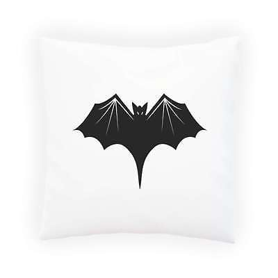 HAPPY HALLOWEEN BAT FUNNY NOVELTY NEW Pillow Cushion Cover k15p