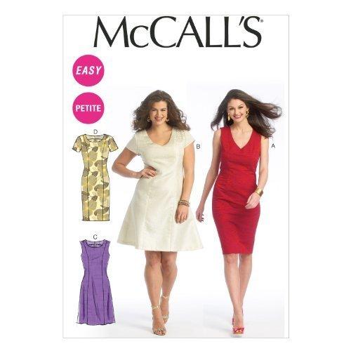 McCall Pattern Company M6920 Misses/Miss Petite/Womens/Womens Petite Dresses, Si - $14.21