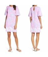 Small  NWT LILLY PULITZER BRITTON DRESS Pink Sorbet High Altitude Engineered - $108.85