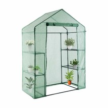 Youke Walk-In Greenhouse Pe Cloth Cover Garden House Succulent Plants Fl... - $63.46