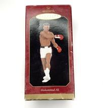 HALLMARK Keepsake Ornament Muhammad Ali Boxing Sports Collectible 1999 In Box - $19.99