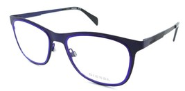 New Authentic Diesel Rx Eyeglasses Frames DL5139 092 53-19-145 Two Tone Blue - $39.40
