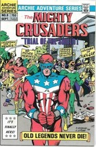 Adventures of The Mighty Crusaders Comic Book #9 Archie 1984 NEAR MINT - $4.99