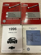 1996 Chevy Impala Caprice Buick Roadmaster Service Shop Réparation Manue... - $119.31