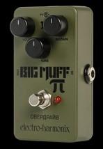 Electro Harmonix Green Russian Big Muff Pi Fuzz Guitar Effects Pedal EHX - $80.60+