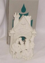 PartyLite  Bakery Carolers White Bisque Porcelain Exquisite Detail Teali... - $6.88