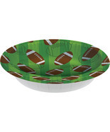 Football 20 Oz. Paper Bowl/Case of 96 - £46.19 GBP