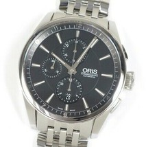 ORIS Artics Chronograph 7644 Black Automatic Stainless Poli &amp - $1,674.20