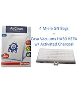 Miele Type GN + Casa Vacuums HA30 HEPA  4 Bags & 3 Filters C1 S400, S2, ... - $27.99