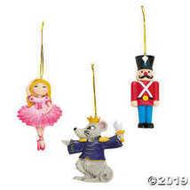 Nutcracker Ballet Christmas Ornaments - $33.73