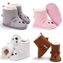 Toddler Boots Winter Newborn Babies Boys Girls Anti-Slip Warm Soft Shoes... - $204,17 MXN